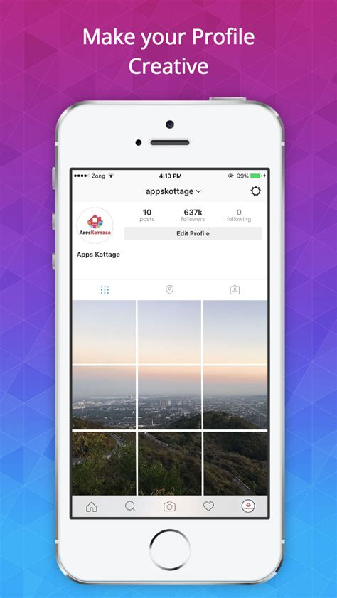 instagram layout layout for instagram easily make insta profile beautiful iphone reviews appspy