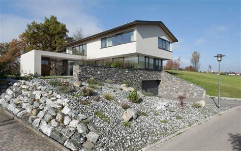 Moderne Häuser Mit Satteldach Am Hang by Neubau Einfamilien Haus Am Hang Im Oberallg 228 U H 228 User