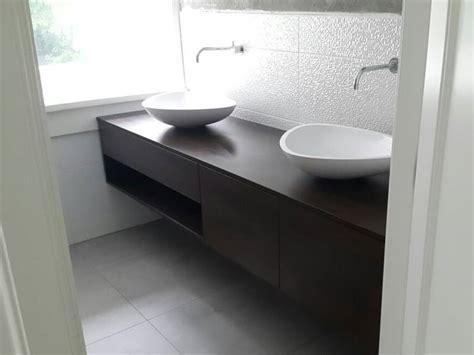 badkamermeubel zwevend eiken design waskommen te boveldt