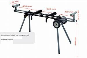 Type De Scie : pied pour scie 39 39 onglets radiale avec roues achat en ~ Premium-room.com Idées de Décoration
