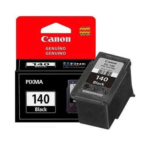 cartuchos tinta canon pg 140 negro original 8ml tienda cqnet