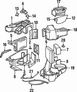 Dodge Neon Clip  Air Conditioning Cable  Distribution Box