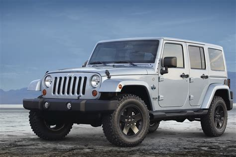 arctic jeep jeep wrangler arctic special edition photos and details