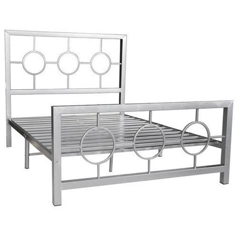 Steel Bed Frame by Silver Stainless Steel Bed Frame Rs 5500 Centroid