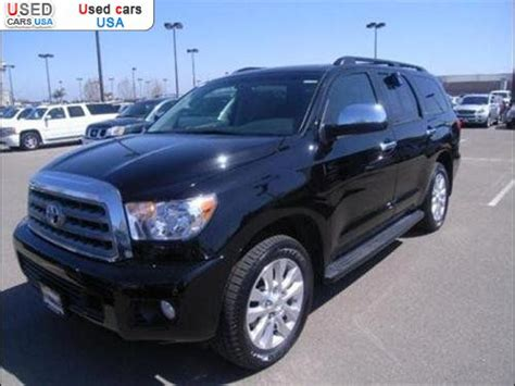 sale  passenger car toyota sequoia platinum
