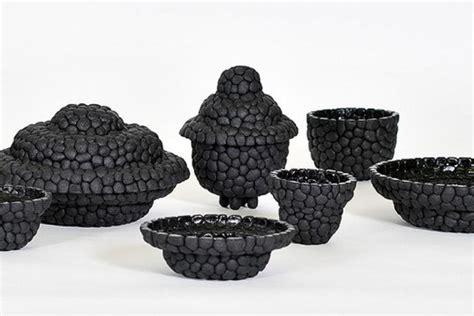 Debbie Wijskamp's Recycled Rubber Black Ruby Vessels