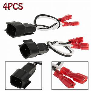 4x Car Speaker Connector Harness Wires Adapter For 72