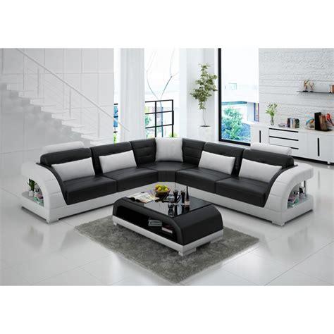 grand canap d angle cuir grand canapé d 39 angle en cuir enzo pop design fr