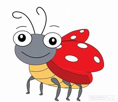 Bug Animated Clipart Animation Lady Animals Ladybug