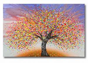 Abstract Tree Of Life Painting | WallMaya.com