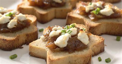 bread canape recipes sandwich bread canapés recipe king arthur flour