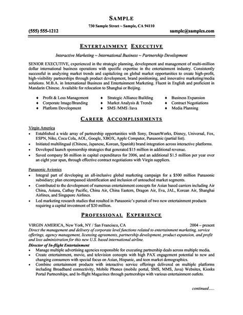 20617 entertainment resume template pin by jobresume on resume career termplate free