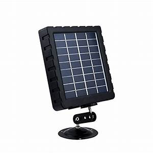 Winghome Solar Charger  Panel 12 Volt For Hunting Trail