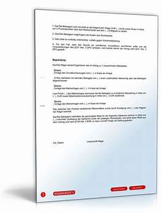 Miete Berechnen Vermieter : zahlungsklage miete vorlage f r vermieter zum download ~ Themetempest.com Abrechnung