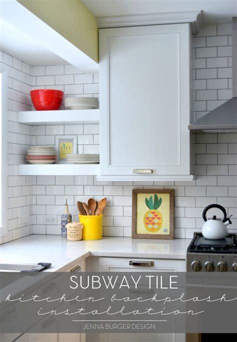 installing subway tile backsplash in kitchen subway tile kitchen backsplash installation burger 8999