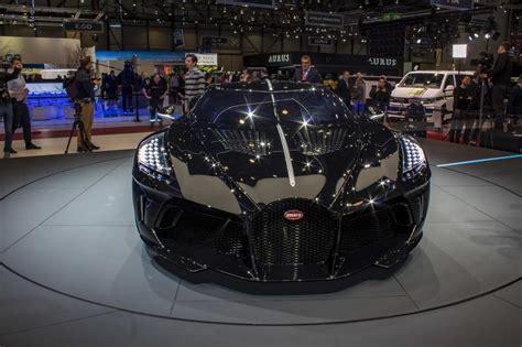 Bugatti brings a $12.5 million bespoke car to geneva. 2019 Bugatti La Voiture Noire | Top Speed