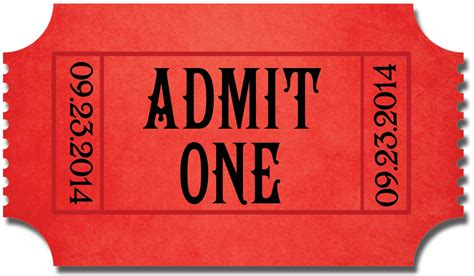 admit one ticket template my deal diary