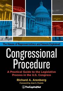 Review Of Congressional Procedure  9781587332999