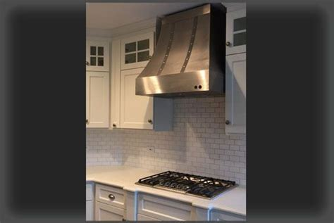 Buy a Hand Made The Cynthia   Stainless Steel Range Hood
