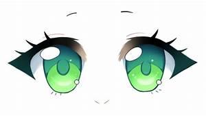 How to Draw Chibi Eyes Tutorial - YouTube