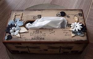 Boite Mouchoir Deco : boite mouchoirs d co boite kleenex pinterest ~ Melissatoandfro.com Idées de Décoration