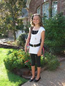 First Day School 6th Grade Girls