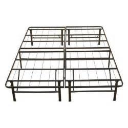 full size rest rite metal platform bed frame mfp00112bbdb the home depot