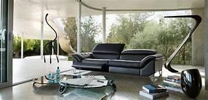 grand canape 3 places cinetique roche bobois With tapis exterieur avec canapé cuir roche bobois 2 places