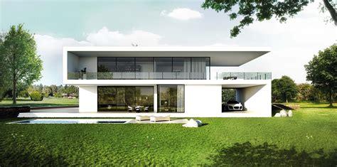 Moderne Haeuser Bauen Architektur Baustoffe Technik by Einfamilienhaus Bauhausstil Architektur Modern