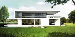 Moderne Innenarchitektur Einfamilienhaus : einfamilienhaus bauhausstil architektur modern ~ Lizthompson.info Haus und Dekorationen