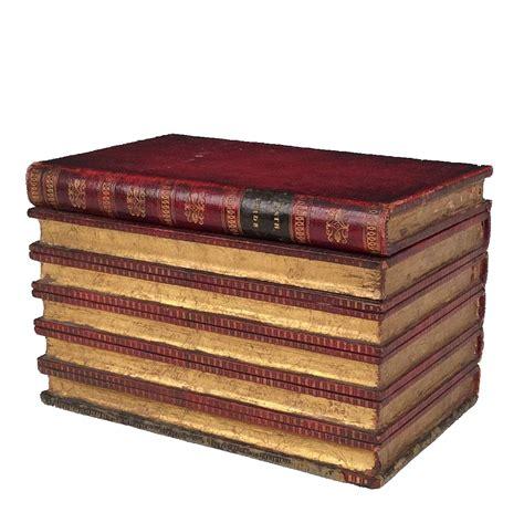 Rare Antique Book Shaped Tea Caddy