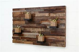 hand crafted reclaimed wood wall art made of old barnwood With wood wall decor using reclaimed wood