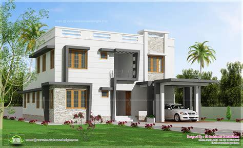 villa house plans 2450 sq modern villa design house design plans