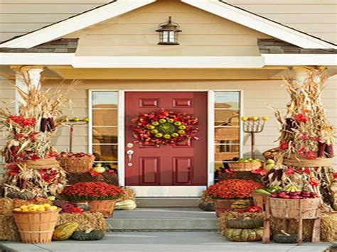 Outdoor Porch Decorating Ideas, Fall Porch Decorating