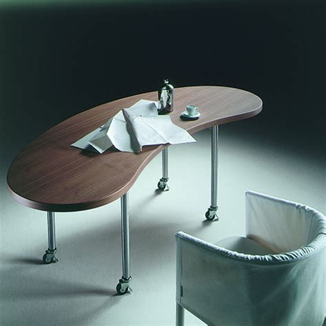 Scrivanie Moderne Per Casa by Excellent Grazie Alle Ruote La Scrivania Mixer Di Flexform