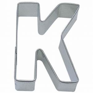letter k cookie cutter cookie cutter experts since 1993 With large letter cookie cutters