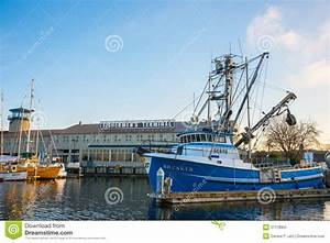 Fishermen's Terminal Port Of Seattle Editorial Photo ...