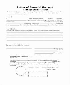 Notarized Authorization Letter Sample Free 31 Travel Forms In Pdf Excel Ms Word