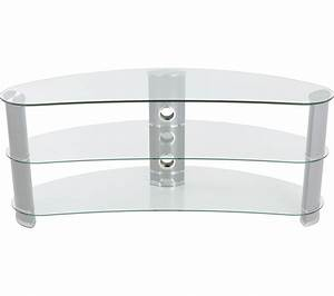 buy avf jellybean fs1200curcs tv stand silver free With meuble 60 x 30