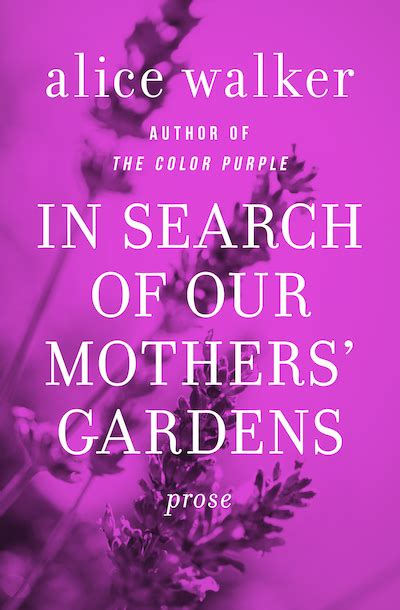 in search of our mothers gardens walker