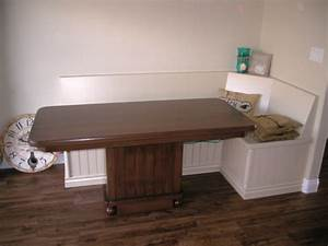 Kitchen tables with bench seats, kitchen table with bench