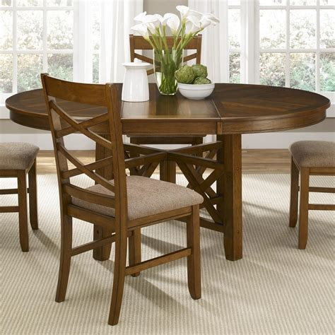 round table seats 8 round dining table with leaf seats 8 loccie better homes