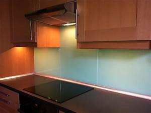 Wandverkleidung Küche Glas : k chenw nde fliesenspiegel wandverkleidung aus glas ~ Markanthonyermac.com Haus und Dekorationen