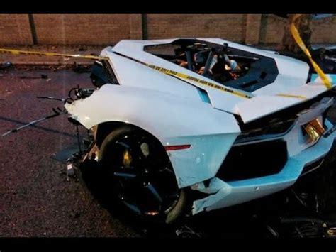 Brand New Lamborghini Crash Testcar Accidents Video New