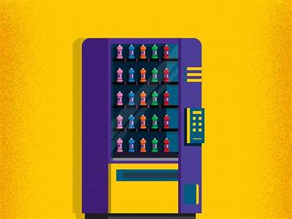 Machine Vending Dribbble Mind Despite Decided Didn