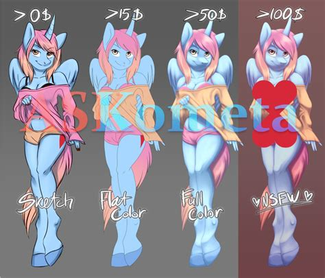 low bid auction ych lovely pony low bid ych commishes