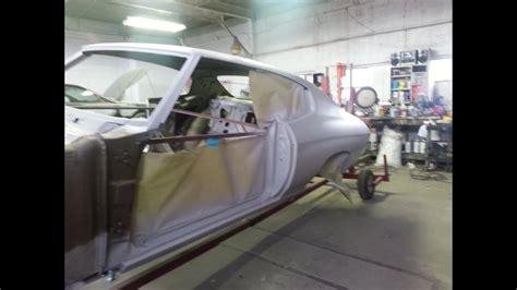 chevelle ss restoration part  body work youtube