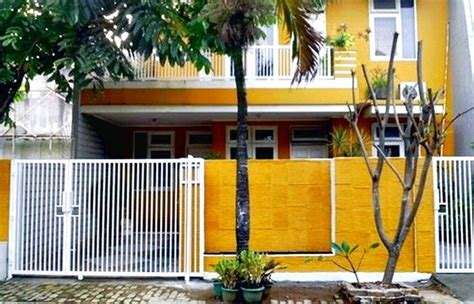 Merk Cat Tembok Pagar Luar lihat warna cat tembok luar rumah sederhana minimalis
