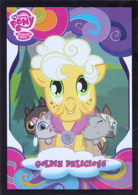 mlp goldie delicious trading cards mlp merch