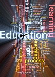 education background concept stock photo